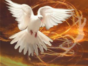 The Spirit came like a dove