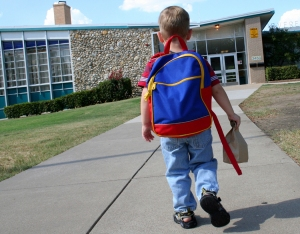 Was your first day of school full of anxiety?