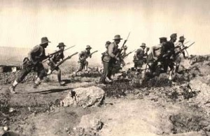 WWI Charge