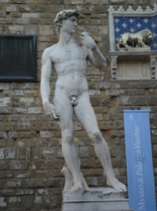 David after Michelangelo