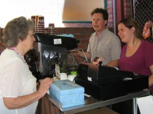 Fairground Cafe Opens, MatNaomi, 28Jan13