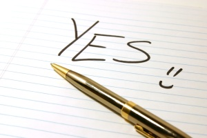 yes - notepad & pen