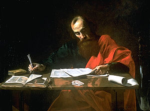 Saint_Paul_Writing_His_Epistles-_by_Valentin_de_Boulogne