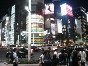 Tokyo at night, Aug 2014