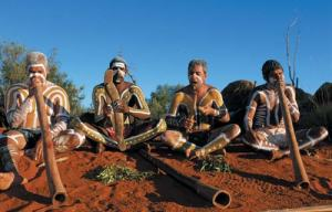 Traditional aboriginal men