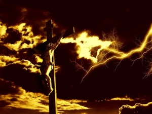 crucifixion-of-jesus-christ-with-dramatic-sky-and-lightning[1]