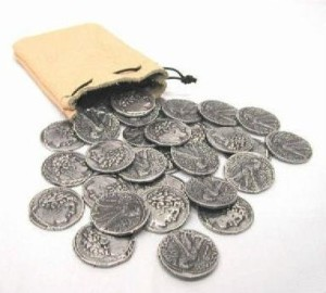 30 pieces of silver