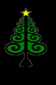christmas tree w star